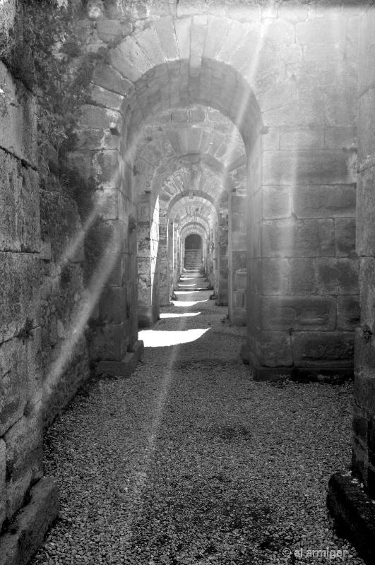 The site of  THE ACROPOLIS of PERGAMUM, TURKEY
