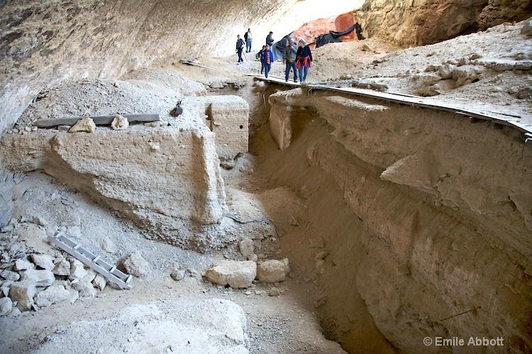 Excavation site Bonfire Shelter 41VV218