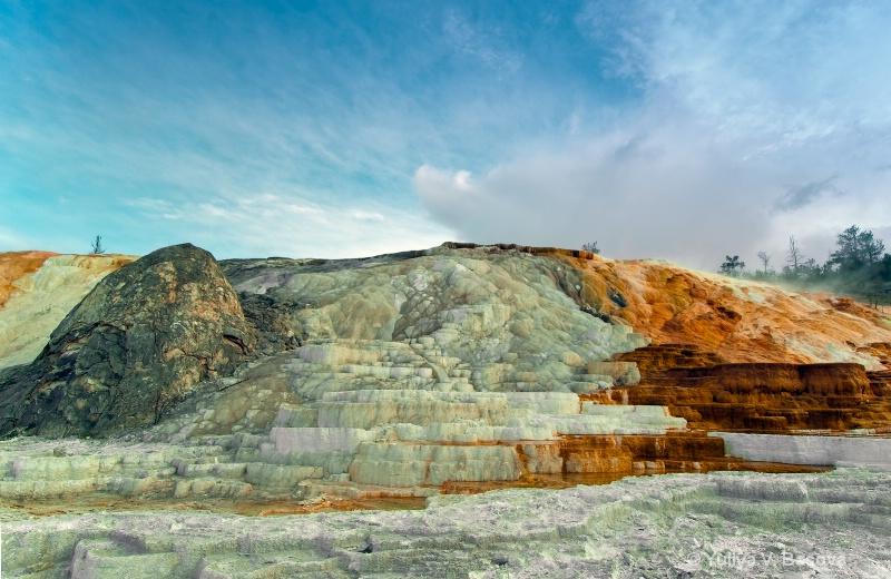 Mammoth Hot Springs<p>