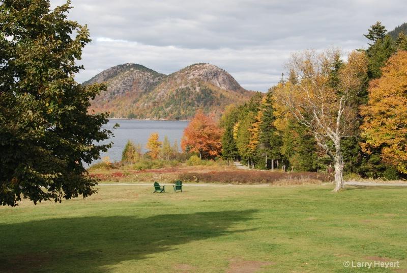 Jordan Pond- Acadia National Park in Maine