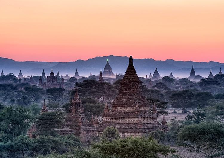 Bagan Sunrise, Myanmar (Burma)