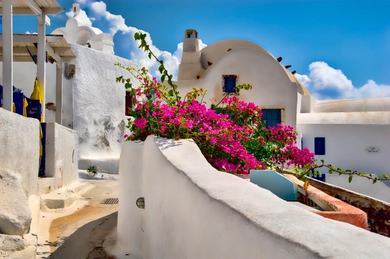 Summer in Santorini