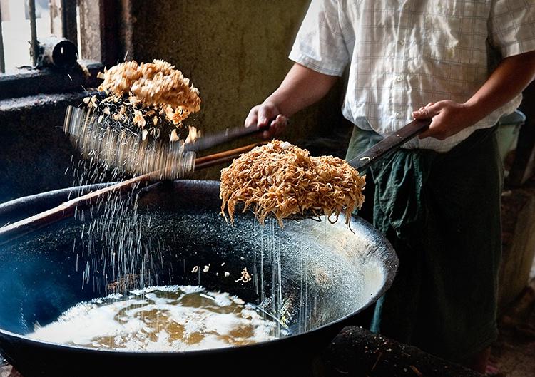 Fried Food, Myanmar (Burma)