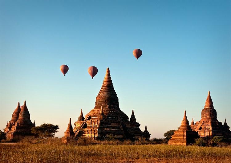 Balloons over Bagan, , Myanmar (Burma)