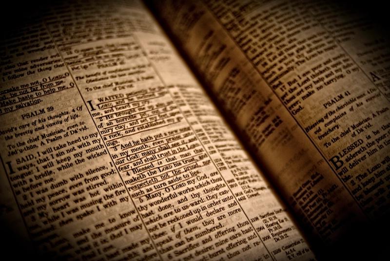 """Thy Word Is a Lamp Unto My Feet..."""