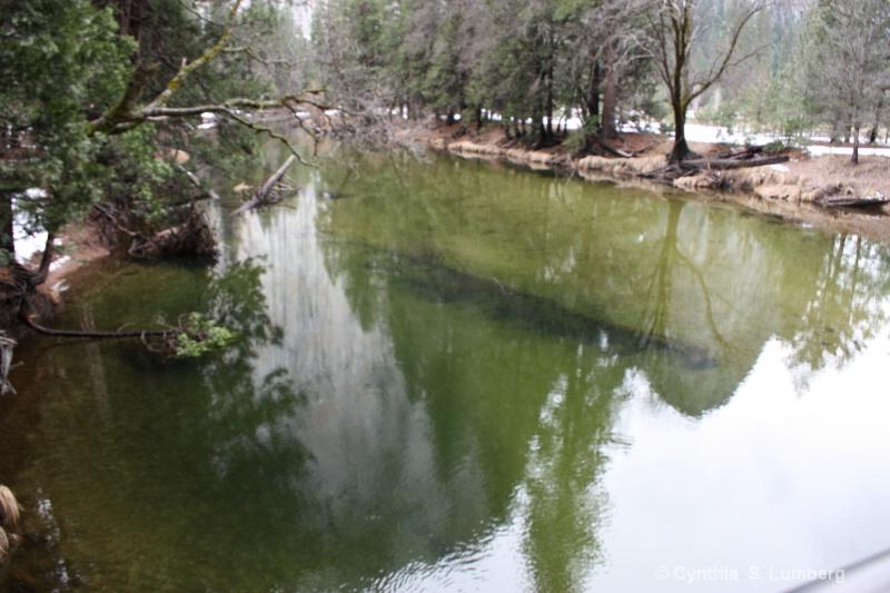 Winter Reflections - Yosemite, CA