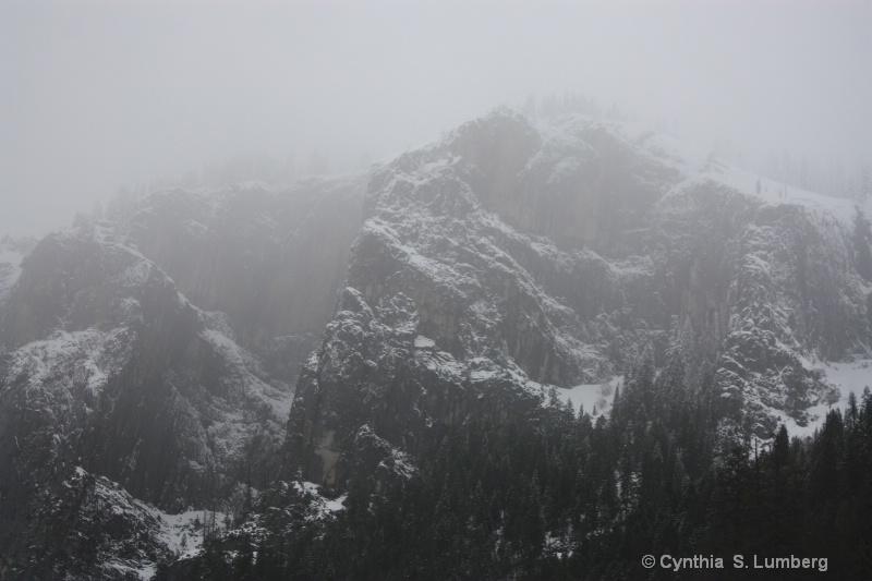 Inspiration Mist - Yosemite, CA