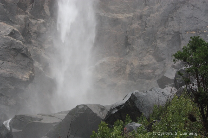 Winter Falls - Yosemite, CA