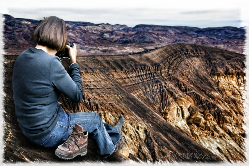 On the Edge in Death Valley