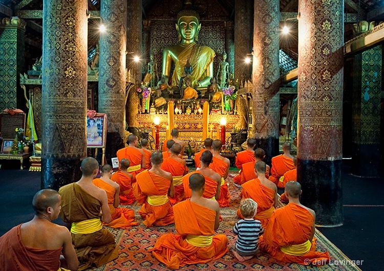 Ben, in wat xieng thong, Luang Prabang,Laos