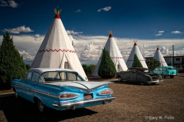 Route 66--The Watchman Motel