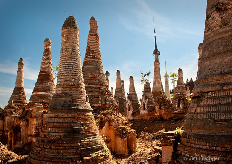 Indein ruins, Inle Lake, Myanmar (Burma)