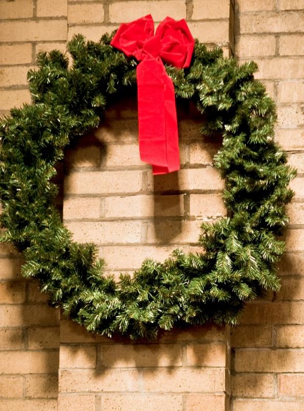 Wreath in Church