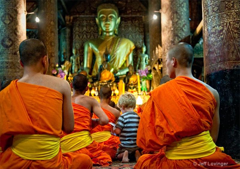 Ben, in wat xieng thong, Luang Prabang, Laos