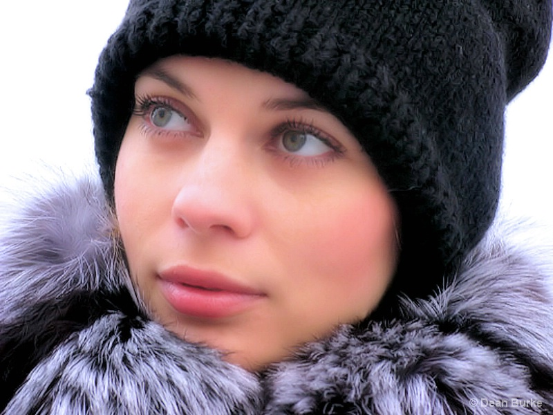 Pretty Face On A Winter Day