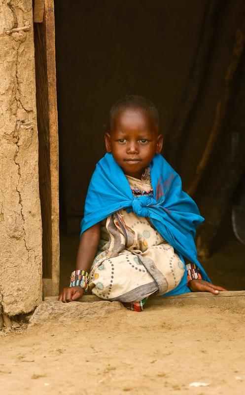 Child of the Masaii- Kenya
