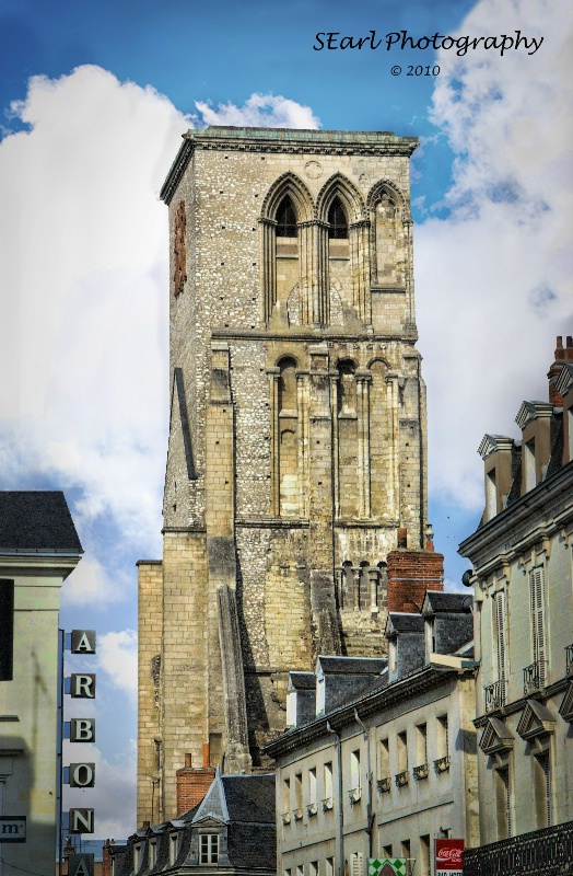 Charlemagne's Tower@@Tours, France