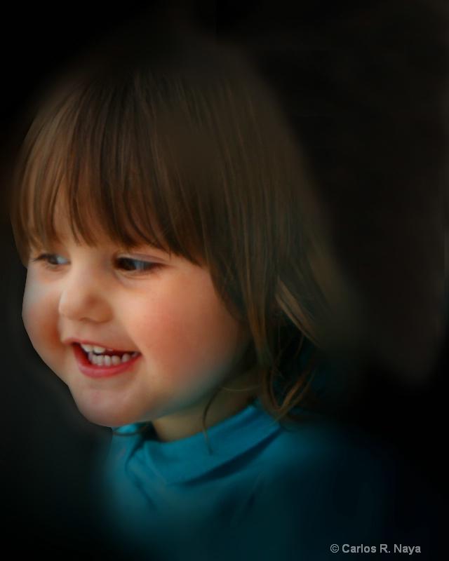 Thank, God for little girls........