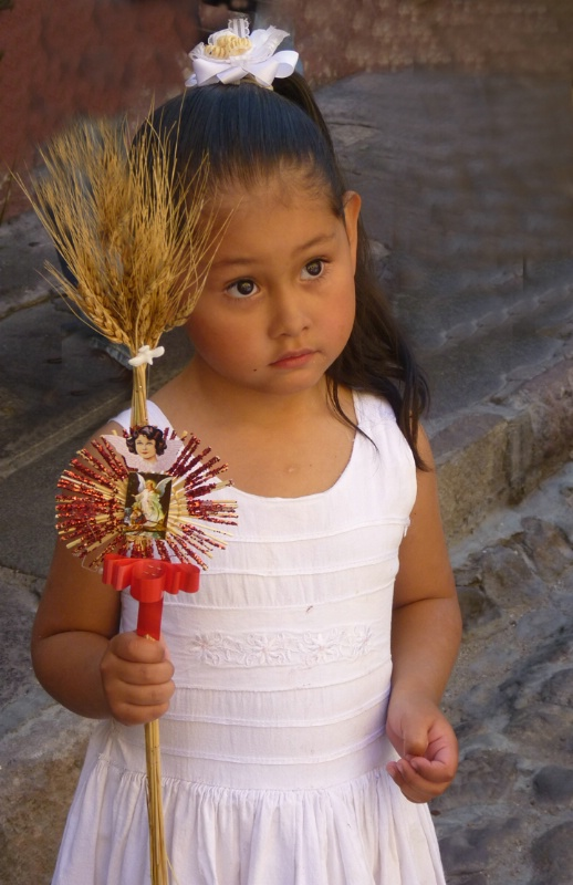 Palm Sunday child