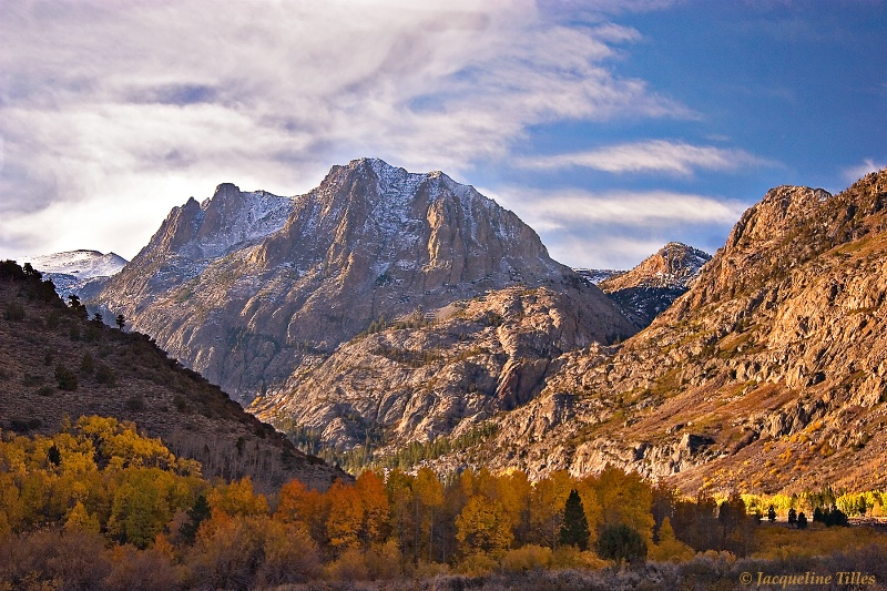 An Autumn Morning in the Sierras
