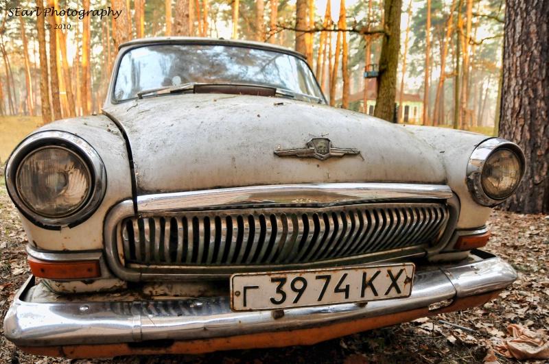 Old Abandoned Car@@Kiev
