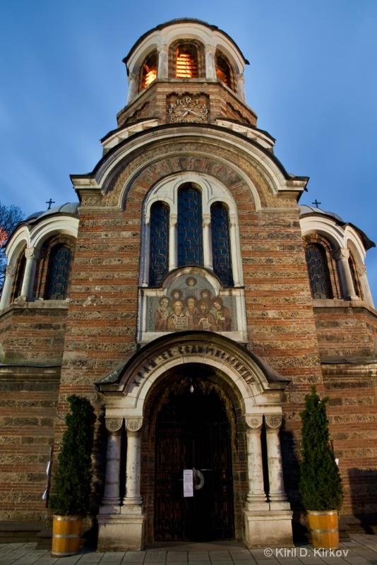The Sveti Sedmochislenitsi Temple