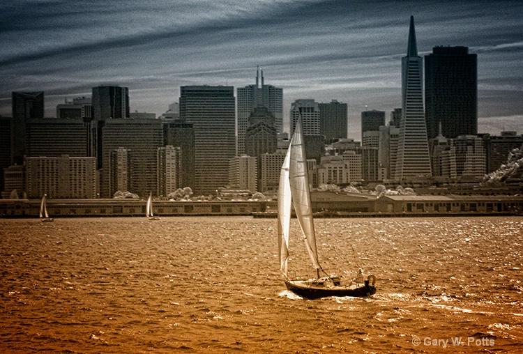 Bay sail--San Francisco