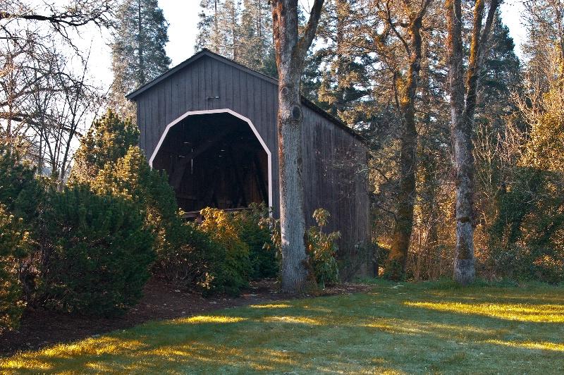 Pass Creek Covered Bridge, OR