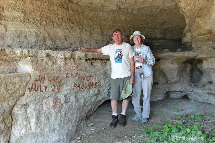 Lynn Mertz and John Berlinghoff at EK's Cave