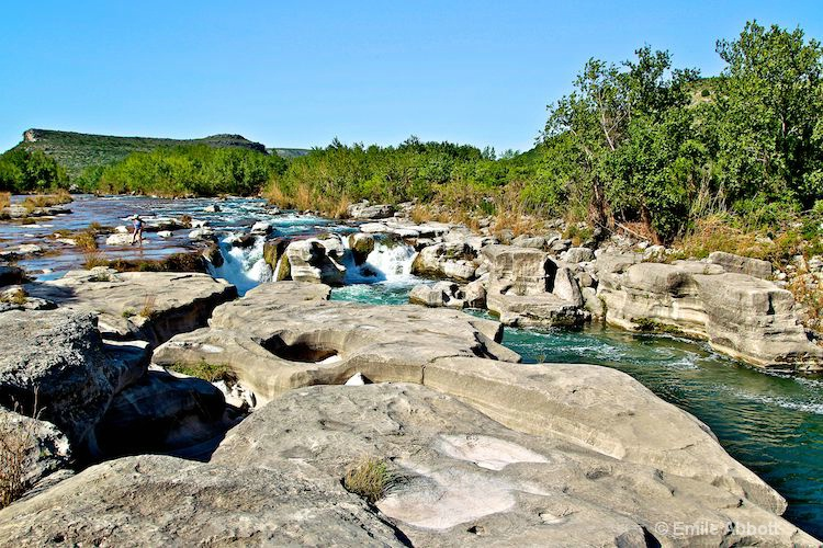 Dolan Falls and the Devils River