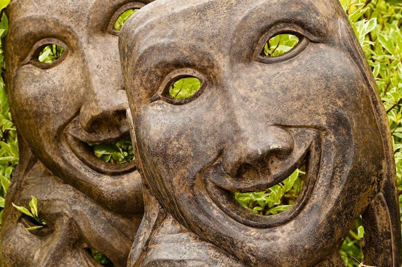 Comedy in the Garden