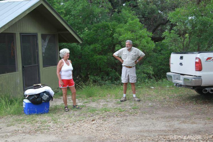 Sue Kaplan and Ken Sims