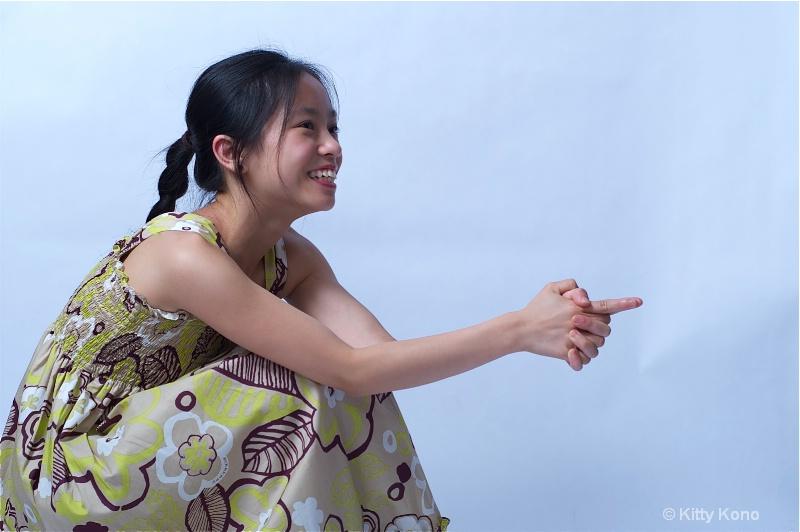 Yumiko in Dance Dress