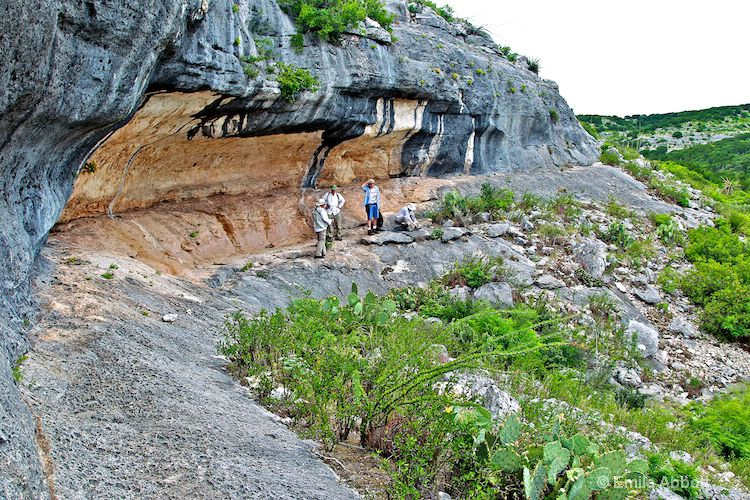 Rock Art Shelter in Devils River SNA