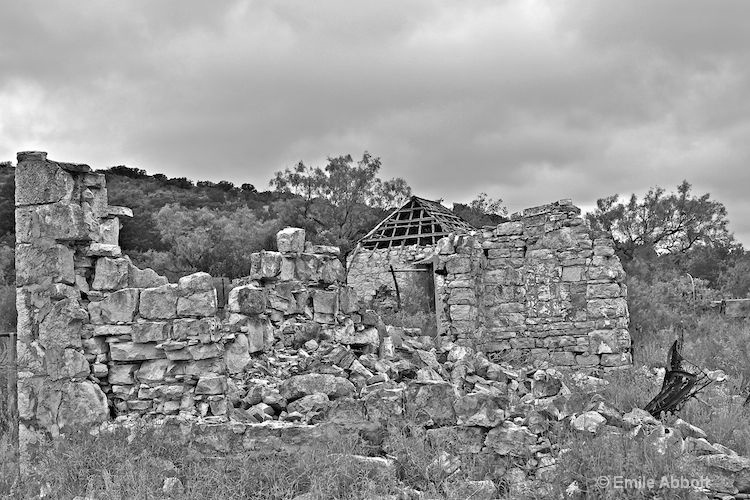 Ruins of West Texas Ranch