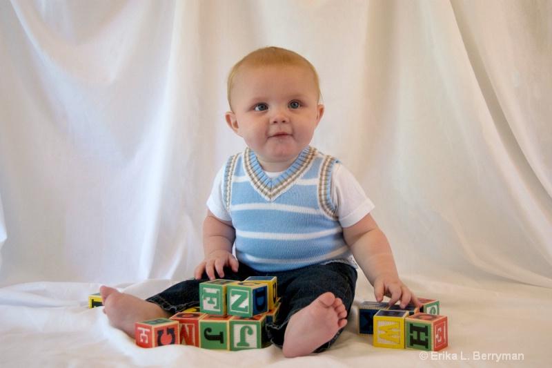 Baby and Blocks