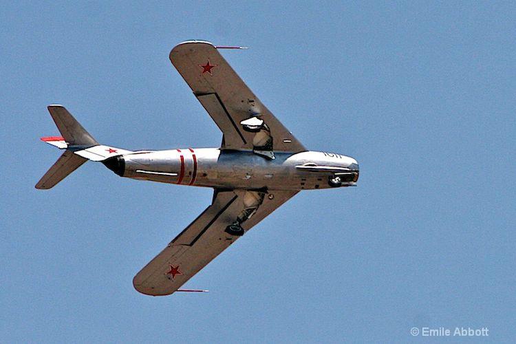 Underside Russian MIG-17
