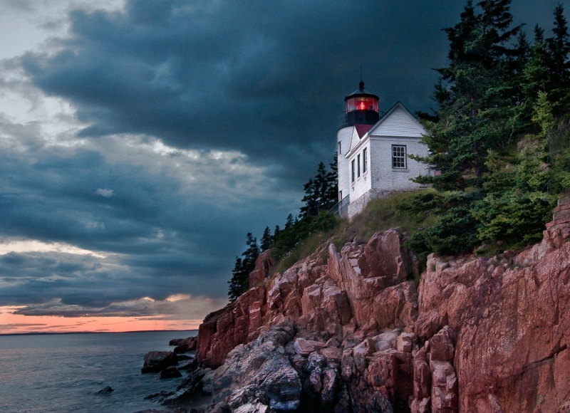 Lighthouse- Bar Harbor Maine