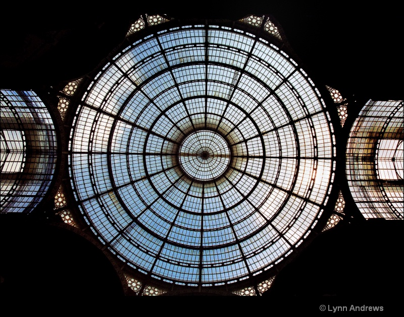 Ceiling Window at the Fashion District, Milan