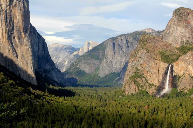 Tunnel View at Golden Hour