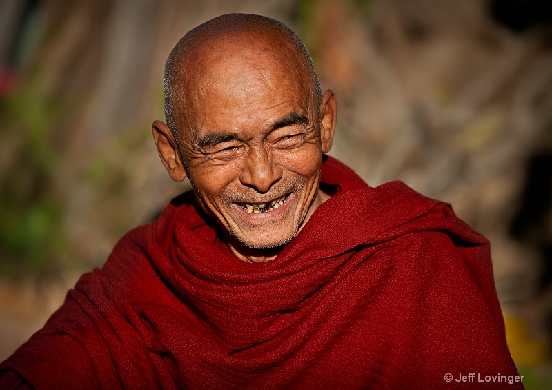 Friendly Monk, Myanmar (Burma)