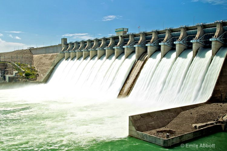 """""""Never Before""""  Amistad Dam 15 of 16 open"""