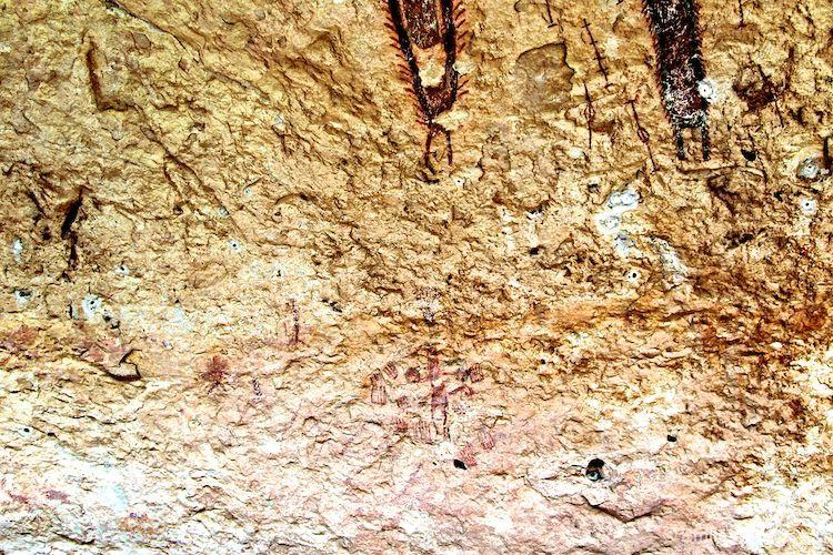 Detail below Bristle Anthropomorp & longer shaman