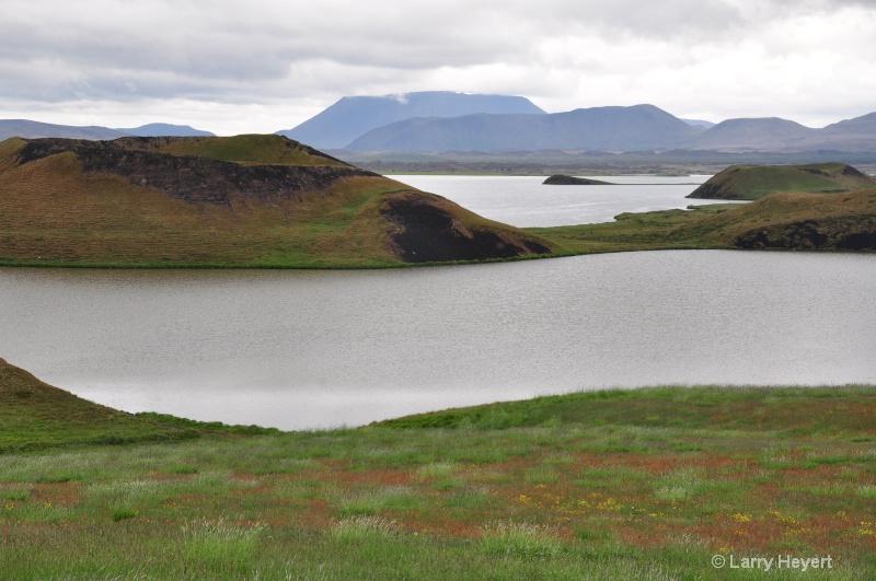 Iceland- craters at Skutustadagigar