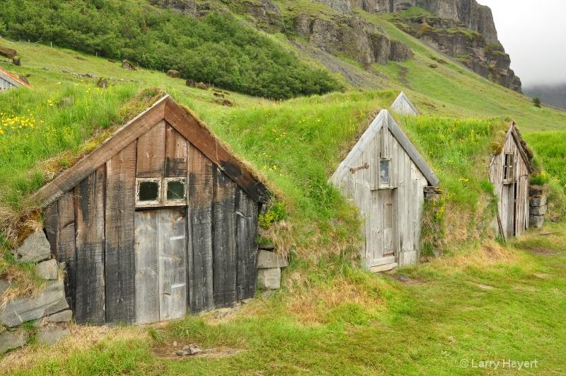 Iceland- farm at Nupsstadur