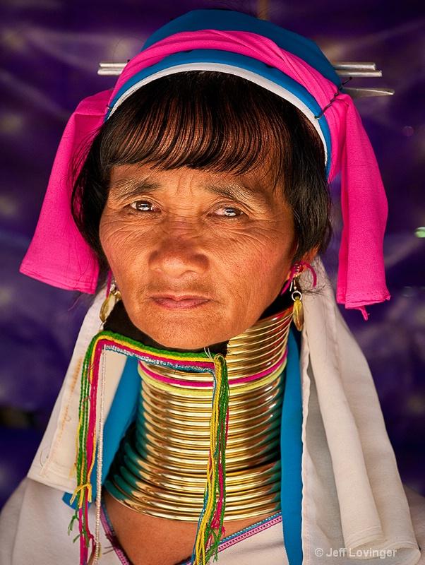 Karen-Padaung Woman, Thailand Hill tribes