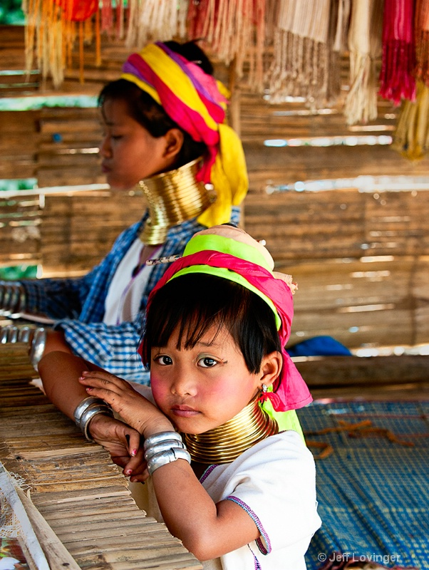 Karen-Padaung Child, Thailand Hill tribes