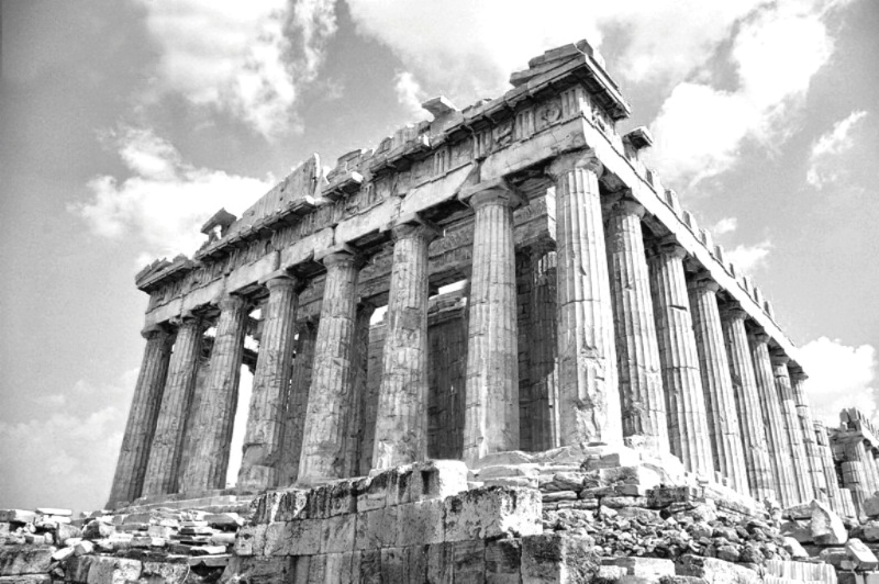 Parthenon BW Conversion