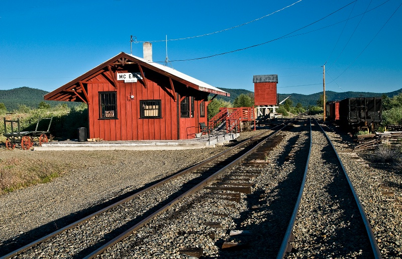 McEwen Depot, Oregon