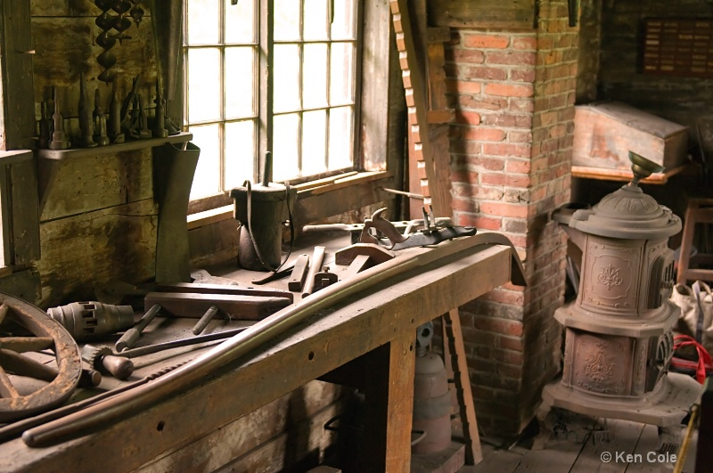 Antique workshop